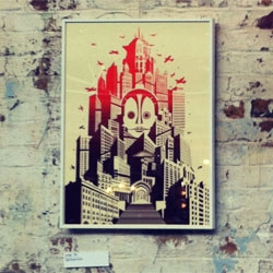 Metropolis by Raid71 for the Blisters exhibition 2012 in London