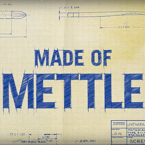 Made of Mettle: The Leatherman Documentary
