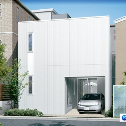 Modern designs straight from Toyota Homes in Japan, the car maker's prefab homes unit that wants to make more houses.