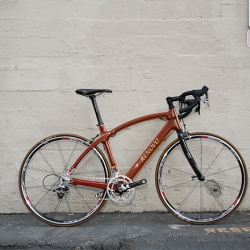 Audi teams up with Renovo for this new wooden bike. Wired gives it a test-ride.