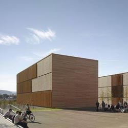 Extension for the University of Applied Sciences in Aalen, by MGF Architekten.