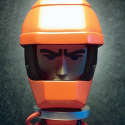 Awesome new vinyl figure designed by Michael Lau and inspired by 2001: A Space Odyssey.