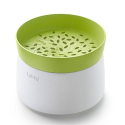 Lékué Microwave Rice Cooker (there's one for pasta too) makes making a little bit of rice, quinoa, farro, etc even easier!