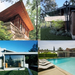 These mid-century masterpieces by architects like John Lautner, William Krisel, Frank Lloyd Wright and Albert Frey are all available as vacation rentals. What a great way to 'get away'.