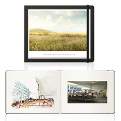 Moleksine + Milk Books = a new collaboration of Moleskine Photo Books and Photo Albums.
