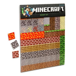 Minecraft Magnets ~ you can now minecraft your fridge!