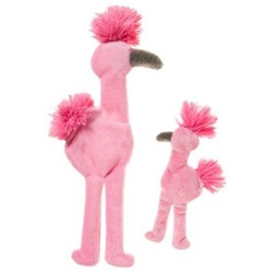 MINGO! West Paw Design makes some of our favorite (most durable) dog toys - this valentine's day flamingo is a fun one.