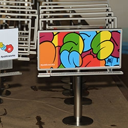LALA Arts is about to release a series of  limited-edition series of metal die-cast mini-billboards based on the Public Works project billboards going up around LA, designed by a select group of leading street artists and graffiti writers!