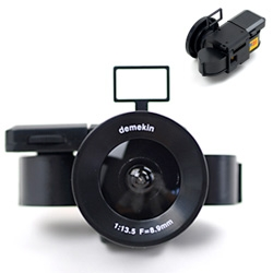SO CUTE! Demekin Pocket Fisheye Camera