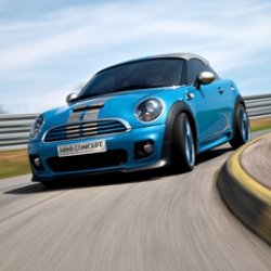Today is the 50th birthday of the Mini and BMW unveiled the Mini Coupe Concept.