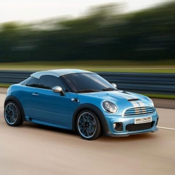 For their 50th anniversary, MINI has created the sporty Coupé Concept car which will enter production in 2011.