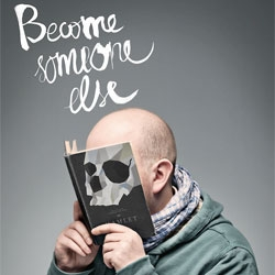Become someone else, cute campaign from Mint Vinetu bookstore by Lithuanian agency, Love.