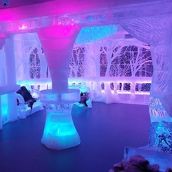 Minus5 Ice Bar in Midtown - NYC winter wonderland that will help you beat the summer heat.