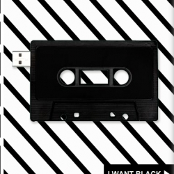 Design your very own USB blank cassette just like the ones we used to know and love. Make it for you, make it for someone else, make a MIXA.