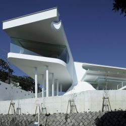 Eastern Design Office have completed their latest project, the Mountains & Opening House in Takarazuka, Hyogo, Japan.