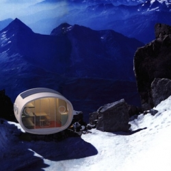 The LEAP (Living Ecological Alpine Pod), a fantastic Prefab Modular Hut for High Altitudes & Mountain Living.