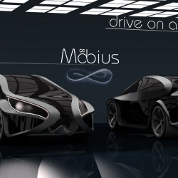 Mobius Concept Car. Math meets Automotive Design
