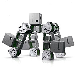 A Modular Robot That Puts Itself Back Together Again - small, independent components that can be replicated and combined in many ways.