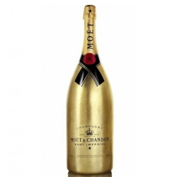 Limited edition Golden Jeroboam for the holiday season by Moët & Chandon.