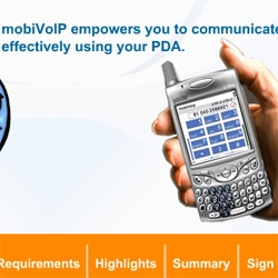 MOBIvoip - on your palm you can use VOIP over GPRS, bluetooth, wifi, evdo - cool idea, let me know if any of you have tried it? I might have to check it out when back stateside