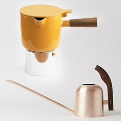 Anderssen + Voll at the Mjolk exhibition - love the Good Morning Moka Pot and Min Watering Can