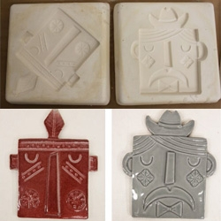 Switcheroo's Institute of Lower Learning is doing a fun ceramic tile workshop with michelle valigura