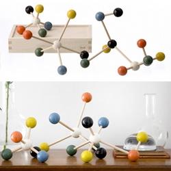 Wooden Molecule Building Set!