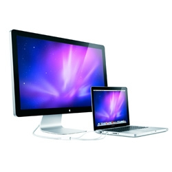 """New 27"""" LED Monitors from Apple ~ finally! Well, coming in sept..."""