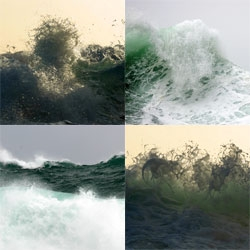 Part monk and part photographer ~ these images of waves from Syoin Kajii in foam magazine are absolutely stunning.