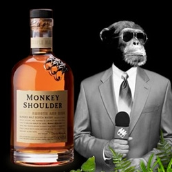 Monkey Shoulder Whisky ~ fun packaging and branding!