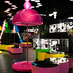 Monki is a unique retail concept where the store, it's design and everything related is based on a fantasy story. The otherworldly design has been thought up by Electric Dreams, we get to chat with them and showcases some mind blowing photography.....