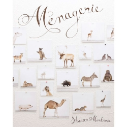 Menagerie, a new book of beautiful photographs of animals by Sharon Montrose.