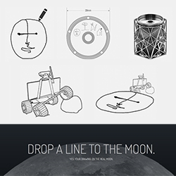 Moon Drawings! CMU's Studio for Creative Inquiry is looking for drawings to send to and draw ON THE MOON!