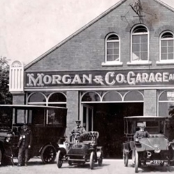 The Morgan Motor Company is a family business and the company historian Martyn Webb tells the history of the car manufacturer, models, and car specifications.