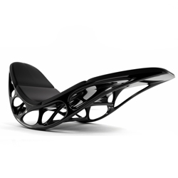 Morphogenesis Chaise  is the attempt to learn from naturally evolving systems and turn the gained knowledge into an intelligent and contemporary design for a chaise lounge. See the video.