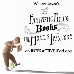 'The Fantastic Flying Books of Mr. Morris Lessmore' innovative film/iPad app/storybook experience by award-winning author/illustrator William Joyce and Co-director Brandon Oldenburg.
