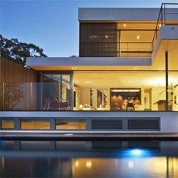 Warringah Road House in Mosman by Corben Architects.