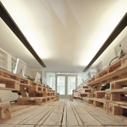 Brandbase pallet project by Most architecture.