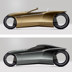 New Zealand designer Paul Wilding has once again created a beautiful masterpiece with his new Electric MotoPod concept vehicle. The MotoPod gives the rider a complete sense of safety, speed and laid-back riding enjoyment.