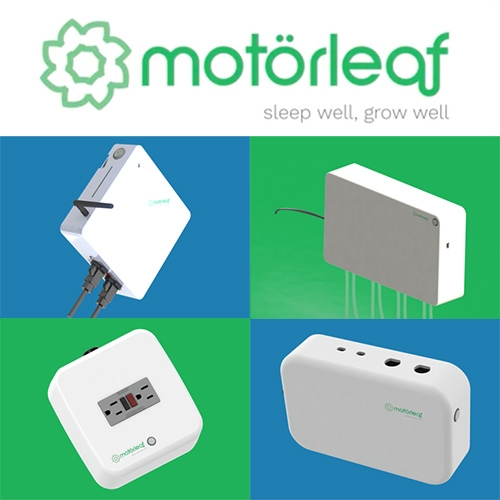 Motorleaf - a modular wireless, automated, home growing system composed of the Heart, Powerleaf, Droplet, and Driplet to monitor and control all your plant growing needs.