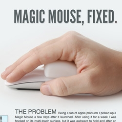 Magic Mouse... Fixed? With a chunk of silicone?