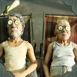 The new claymation film from director Tatia Rosenthal and writer Etgar Keret, $9.99, hopefully will make its way to a theatre near you soon. Trailer looks amazing...