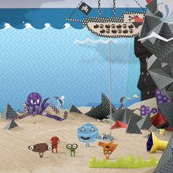 Create your own character and explore the exciting world of Mr Strings!