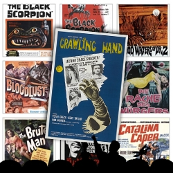 World Famous Design Junkies presents the Mystery Science Theater 3000 (MST3K) collection of graphics - nearly the entire 200 movies as represented by their original theater posters!