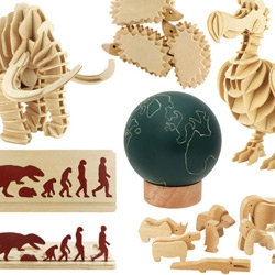 Muji has some of the best stocking stuffer ~ so many wooden nature inspired toys this year! Perfect for any animal loving designer... or toddler in your life!
