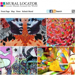 Mural Locator is a simple to use web tool for helping people locate murals around the world.