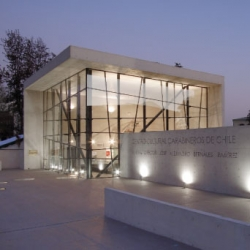 Stunning Museum and Cultural Center by Gonzalo Mardones and Viviani in Santiago, Chile.