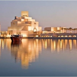 The Museum of Islamic Art in Doha, Qatar is a stunning example of contemporary architecture fused with traditional cultural sign posts.  Designed by IM Pei, this may make you rethink PersianGulf architecture.