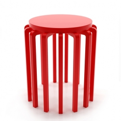 Mutant stool by Joel Escalona; comes with some extra legs.