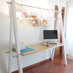 Tommaso Guerra's personal home workspace